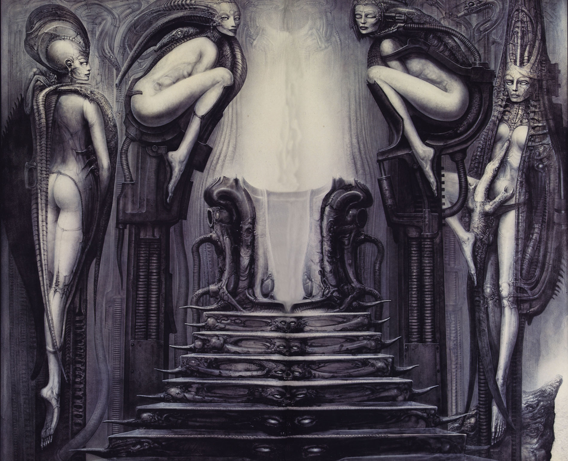 H. R. Giger - Passage Temple: The Way of the Magician (1975)