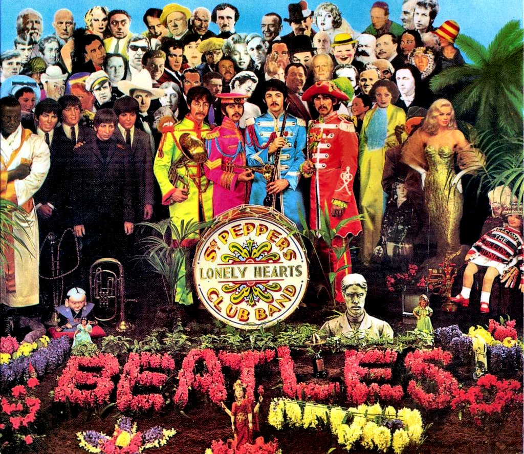 Disco The Beatles - Sgt. Pepper's Lonely Hearts Club Band