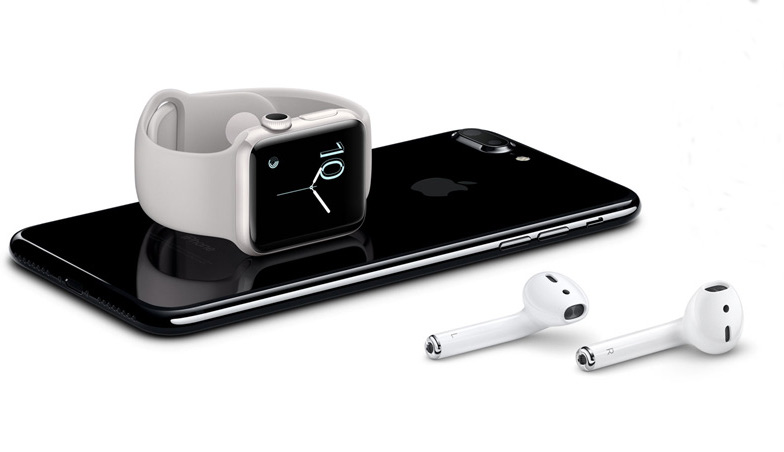 iPhone 7 e gli Air Pods