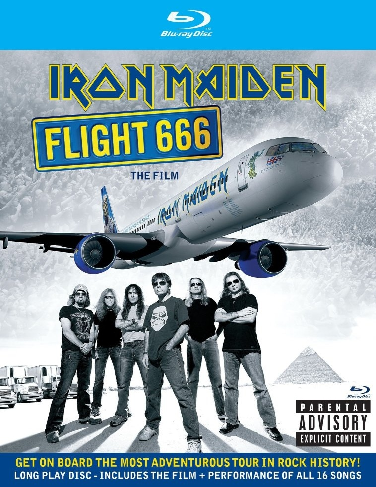 Recensione Iron Maiden - Flight 666 - The film